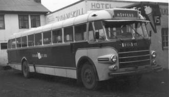 Bussurin á Íslandsferðini