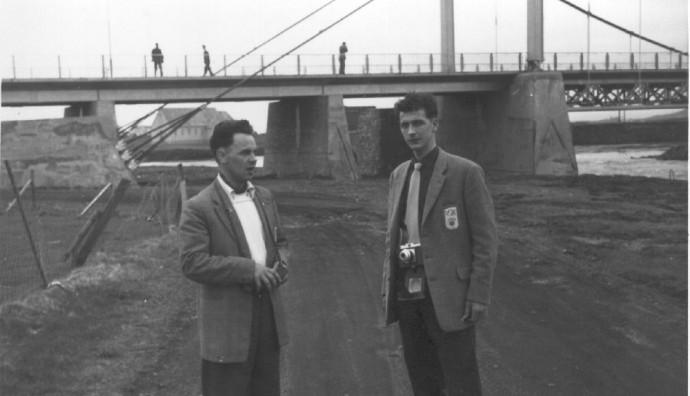 VB á Íslandsferð í 1959