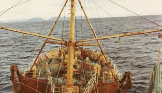 Umborð á trolaranum Vágbingi