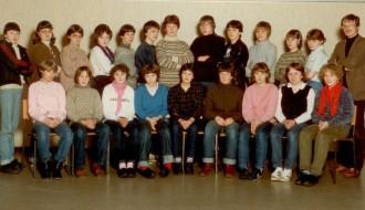 8B í Vágs skúla í 1981