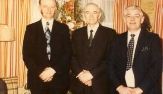 Brøðurnar Einar, Andreas og John í Kikslið fyrst í 1980unum