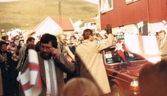 Drotningavitjan í Vági fyrst í 1980unum