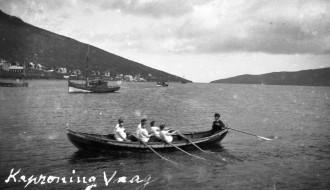 Seksmannafarið Laura á jóansøku í 1930