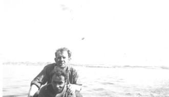 Umborð á Elin í 1958/1959