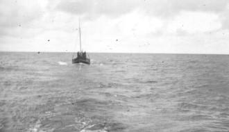 Sjófrúgvin verður sleipað til Grønlands í 1958/1959