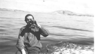 Arni umborð á Elin í 1958/1959