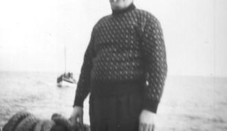 Aksel Thorsteinsson umborð á Elin 1958/1959