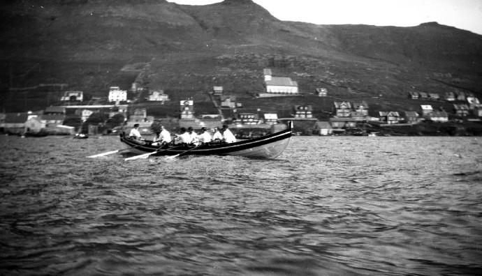 Jóansøkukappróður á Tvøroyri