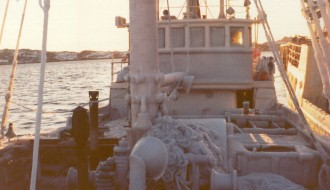 Við Kyrjasteini undir Grønlandi í 1974
