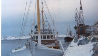 Við Kyrjasteini við gørnum undir Grønlandi í 1974