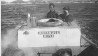 Til útróðrar í Grønlandi í 1960