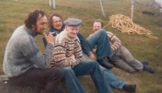 Manningin á Kyrjasteini á Grimsey í 1974