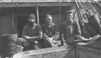 Við norskum línubáti í 1950unum