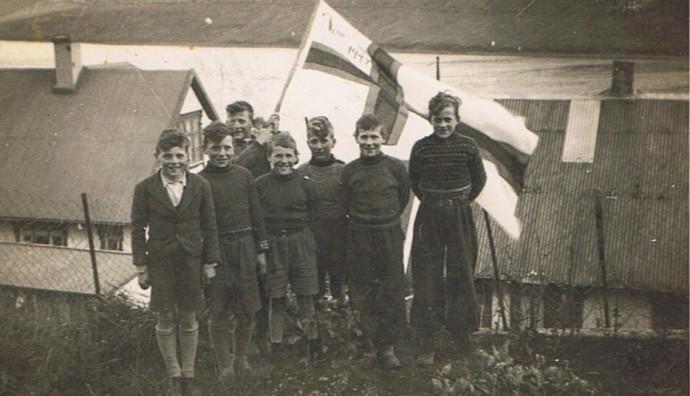 Bátsmanning á jóansøku í 1944