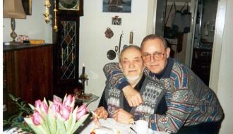 Jørgin og Odd Bertholdsen desember 1994