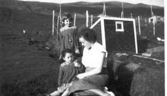 Kirstin, Ebba og Jacobina
