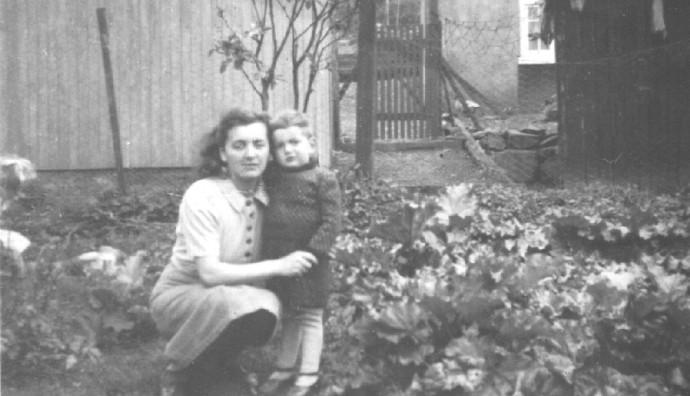 Frederikka Petersen og Anton Petersen í 1940unum