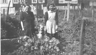 Marin, Jónhild og Ella