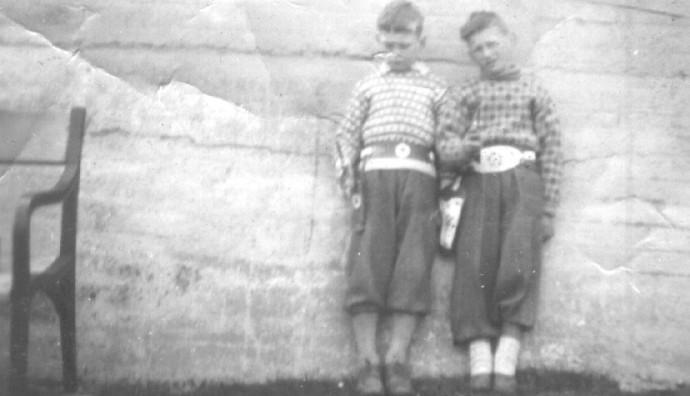 Óli Holm og Ólavur Larsen