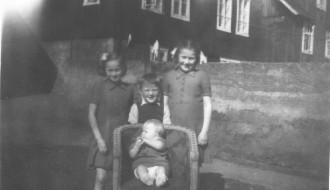 Marna, Óli, Jona og Elsebeth