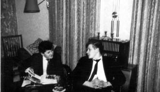 John Hansen og Petur hjá Presti