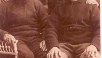 Manning á sluppini Harry TG 651 í 1930