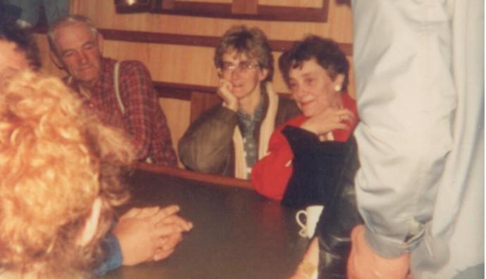 Við Johannu TG 326 í Íslandi í 1988