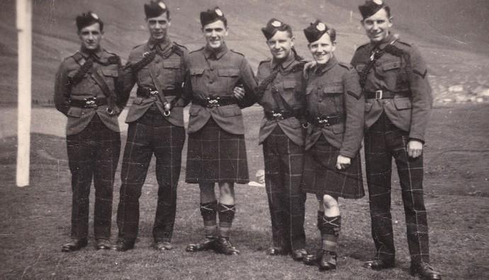 Bretskir hermenn í 1942