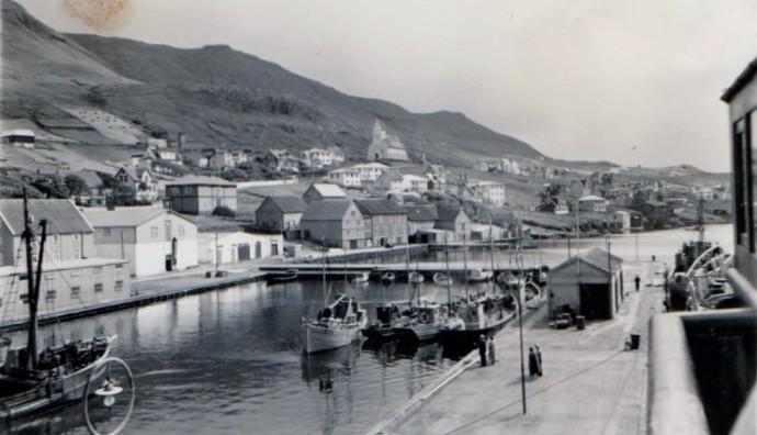 Keiin á Tvøroyri í 1957