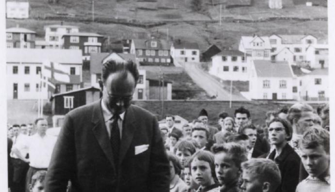 Kampmann á vitjan í Vági