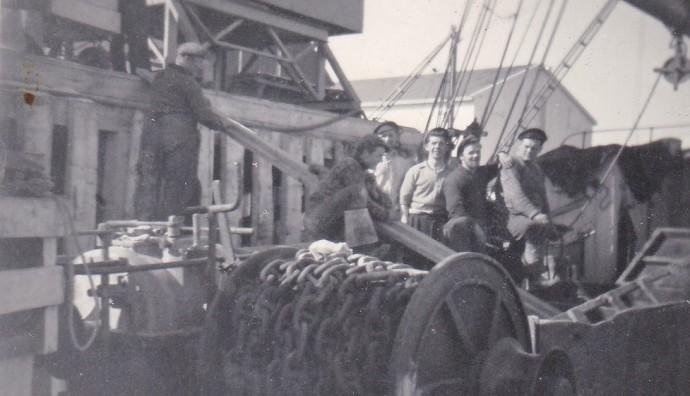 Umborð á Saksaberg TG 804