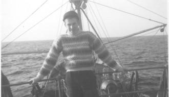 Bent Gudmundsson umborð á Vágbingi
