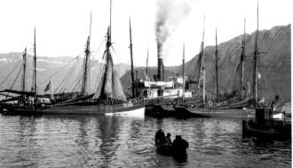 Johanna TG 326 á Norðfjørðinum