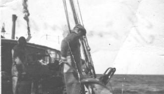 Við Saksaberg í Grønlandi