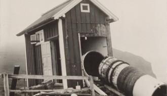Vitin í Akrabyrgi í 1925