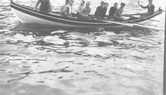 Tofta Regin á jóansøku í 1956