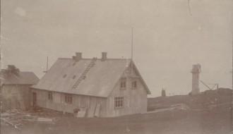 Vitin í Akrabyrgi 1909