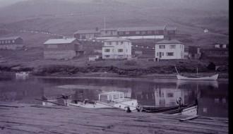 Bátur við Garðabrúgv